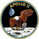 Apollo 11 Insignia [Image taken from Wikipedia article about Apollo 11]